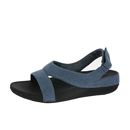 Denim Di Sandali Superleggero Suoneria FitFlop Denim
