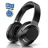 Cuffie Bluetooth Wireless Over Ear pieghevoli senza fili Hi-Fi Bass Stereo Headphones senza fili e modalità cablata cuffie con microfono integrato chaobai