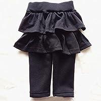 Spritech (TM) bambine New Fashion Autumn puro cotone a doppio strato, con tutù da donna, Grigio, 80cm:for 12-18 month