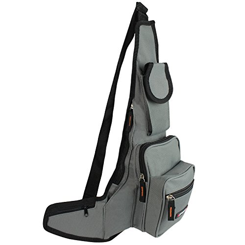 G&X Topstyle - Riñonera Negro T006 Grau