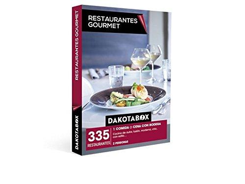 DAKOTABOX – Caja Regalo – RESTAURANTES GOURMET – 335 Restaurantes de cocina de autor, moderna, con estilo, fusión…