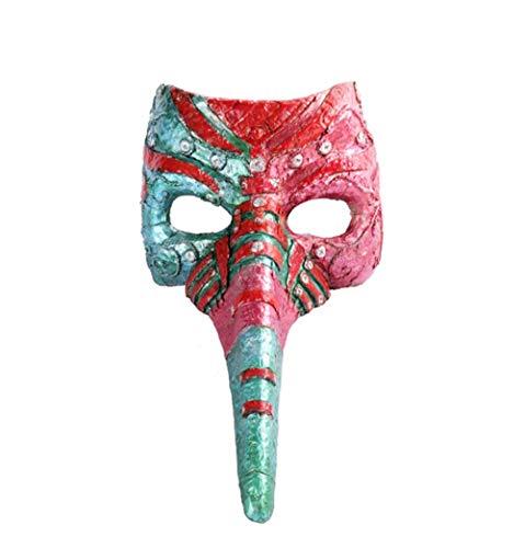 Clown Für Kostüm Verkauf - LUZEO Halloween Maske - Pestarzt Tukan Maske Karneval Cosplay Maskerade Partei-Kostüm Horror Maske Halloween Kostümzubehör Prop