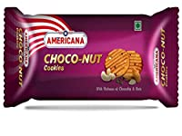 Americana Choco-Nut Cookies with Chocochip & Nuts (Pack of 10 X 75GM)