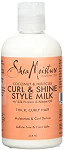 Shea Moisture Shampooing Coconut and Hibiscus Curl and Style, 254ml