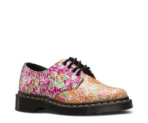Dr.Martens Womens Smiths Daze Leather Shoes Multi
