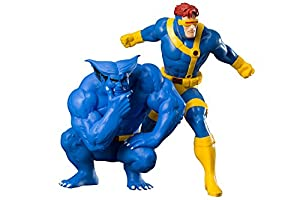 Kotobukiya- Ciclope Bestia Pack 2 Estatuas Marvel Art Fx (KOTKTOMK257)