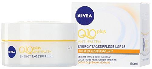NIVEA Vitalisierende Tagespflege, 50 ml Tiegel, Q10 plus Energy