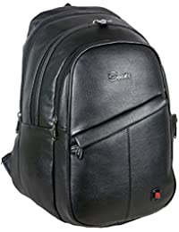 0f4bf03c714 Easies Synthetic Leather Formal Black Laptop Backpack for Men and Women