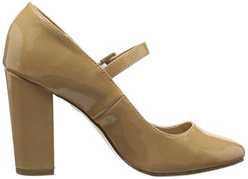 New Look Polo, Escarpins femme Marron (Camel)