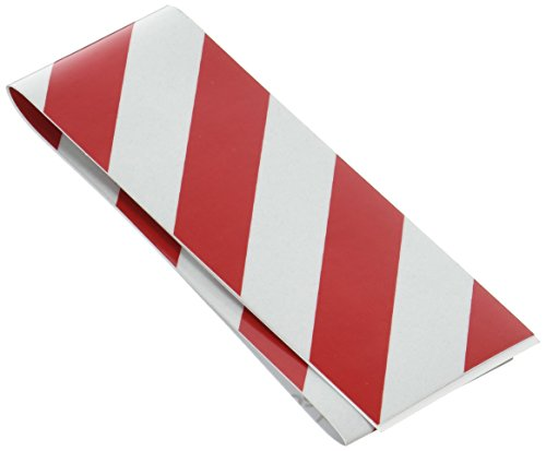 Hanson C H #55304 2x24 RED/SLV Refl Tape by CH (Kostüme Hydrant)