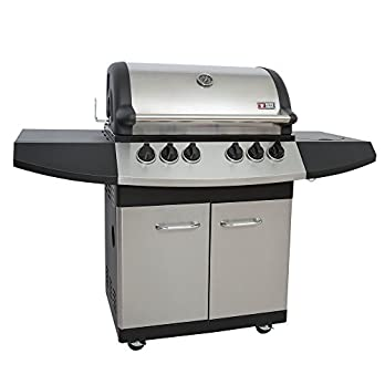 Mayer Barbecue Zunda Gasgrill Mgg 341 Pro Mit Backburner