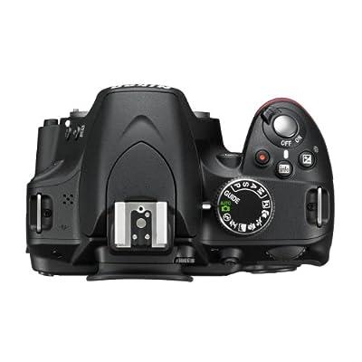 Nikon D3200 Digital SLR with 18-55mm VR II Lens Kit - Black (24.2 MP) 3.0 inch LCD