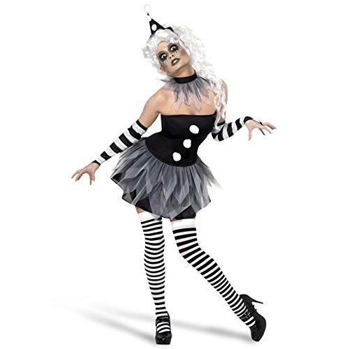 Kostüme Dead Girl (Halloween Harlekin Kostüm Damen -)