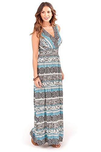 Pistachio Damen Collegejacke Kleid blau blau Small Paisley Teal Blue ...
