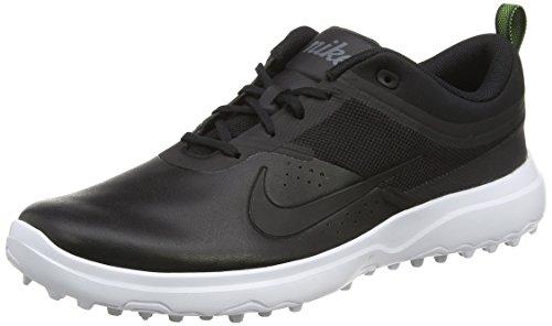 Akamai Nike - Chaussure de golf femme - WMNS  Akamai - Negro / Blanco / Gris Oscuro / Plata - 39 EU ( 5.5 UK )