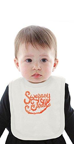Sweeney Todd red poster Organic Baby Bib With Ties Medium Toby Tee
