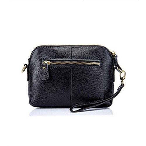 Damen Mini Handytasche Wild Messenger Bag Black