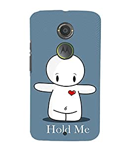 EPICCASE Hold Me Mobile Back Case Cover For Moto X 2nd Gen (Designer Case)