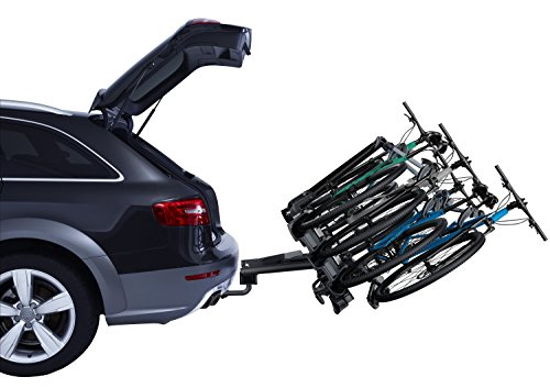 Thule 927 VeloCompact 4 Bike Carrier Portabici-Gancio di traino Supporto inclinab