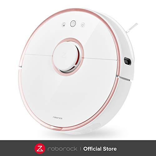 Roborock S5 Robot Aspirador y Fregona, Robot Aspirador con Aspiración Potente de 2000Pa y Conectividad...