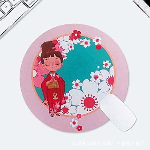Dicke weiche Gummimatte kreative Persönlichkeit kleine frische Runde Kimono - Braune Mäuse Kostüm