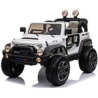 Mondial Toys MT-018 - Coche eléctrico 12 V para niños 2 plazas Maxi Todoterreno