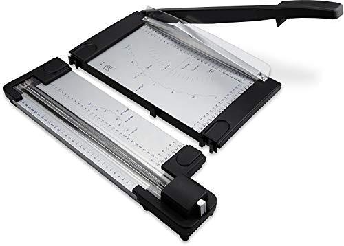 Metall Schneidemaschine OC500 – 2in1 Rollenschneider und Hebelschneidemaschine Papier, Papierschneidemaschine A4 Hebelschneider Tragbar Fotoschneidegerät Foto Schneider