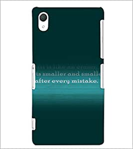 PrintDhaba Quote D-3282 Back Case Cover for SONY XPERIA Z2 (Multi-Coloured)