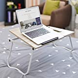 Freie tragbare Faltbare Laptop-Computertisch für Schlafzimmer Student Bett B