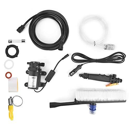 24-V-Hochdruckreiniger, Spritzpistole, elektrische Autowaschpumpe für die Reinigung von Autos, Haushaltsreinigung, Klimaanlagenreinigung, Gartenspray mit 6-Meter-Spritzwasserleitung