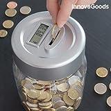 elektronische Digitale Spardose mit Münzenzähler Zählwerk LCD Display Sparbüchse Geld Sparen Sparschwein