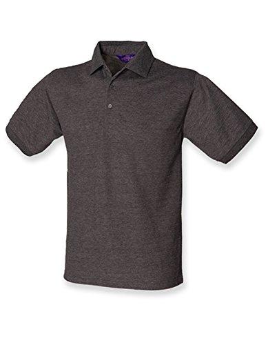 Men`s 65/35 Classic Piqué Polo Shirt Charcoal