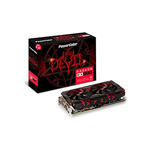 PowerColor VGA - AXRX 580 8GBD5-3DH/OC