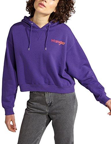 Wrangler Women's Crop Hoodie Sweatshirt in