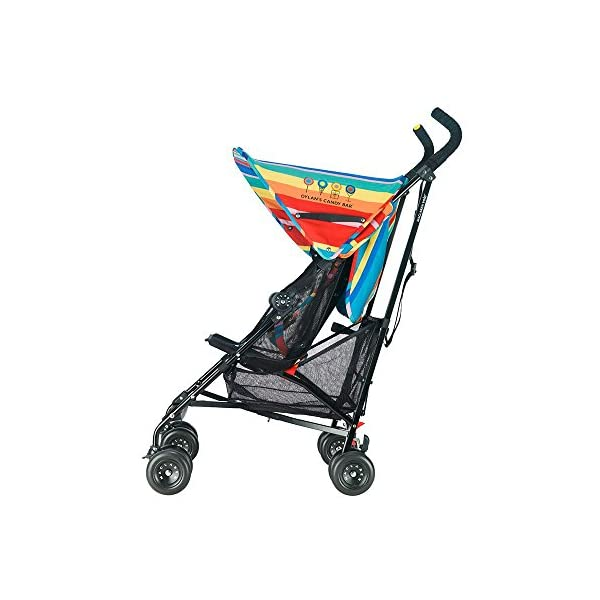 Maclaren Dylan's Candy Bar Volo Stroller - super lightweight, compact Maclaren Basic weight of 3.3kg/7.2lb; ideal for children 6 months and up to 25kg/55lb Maclaren is the only brand to offer a sovereign lifetime warranty Extendable upf 50+ sun canopy and built-in sun visor 15