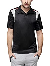 Campus Sutra Men Polo Neck Dry-Fit Jersey