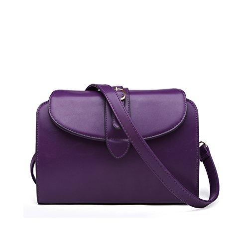 Sprnb Moda Piccola Borsa Tracolla Borsa Donna Borsa Borsa Tutti-Match Marea D'Estate,Arancione Purple