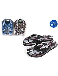Chaussures Plage Motif War Noir–Taille E2–Taille E2