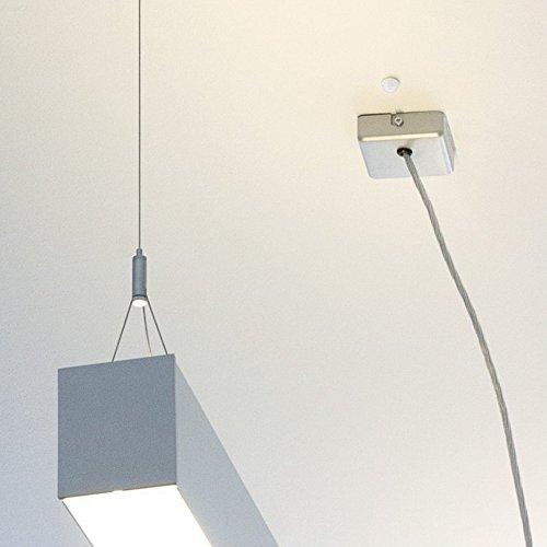 2er Pack – Mini Einbau IR Bewegungsmelder 360 Grad 230V – LED geeignet - 3