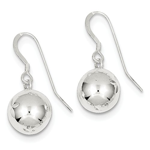 IceCarats Designer Schmuck Sterling Silber Diamond Cut baumeln - Diamond Ohrringe Baumeln