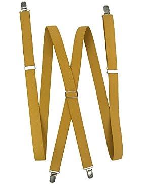 Tirante liso con cruce metálico forma X
