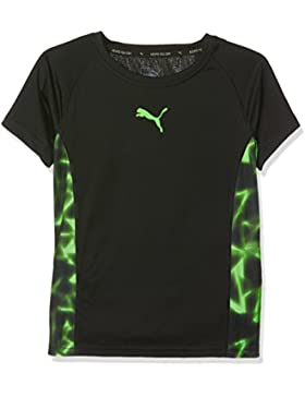 Puma Active Cell Graphic Tee–Camiseta, infantil, ACTIVE CELL Graphic Tee, Puma Black, 4 años (104 cm)