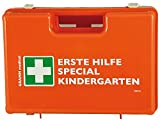 GRAMM medical 418.035.00310 Verbandkoffer Kindergärten, Orange, 34 x 12 x 24 cm