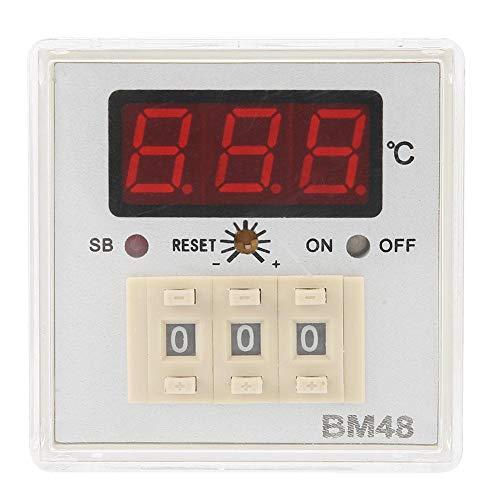 Semme Temperaturregler BM48-A9RPK Digitalanzeige Hochpräziser Thermostat zur Temperaturkontrolle