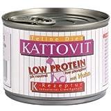 Kattovit Low Protein Huhn 85 g, Futter, Tierfutter, Nassfutter für Katzen