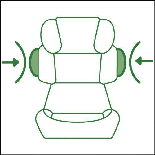 Cybex Silver Pallas-fix, Autositz Gruppe 1/2/3 (9-36 kg), Pure Black, mit Isofix