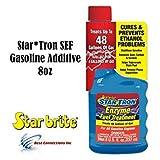 Star Tron SEF Gasoline Additive 8 oz for All Gasoline Engines StarBrite 14308