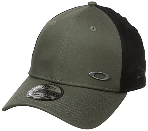Oakley Herren TINFOIL Cap Stretch Fit Hats, Dark Brush, S/M - Spandex Hat