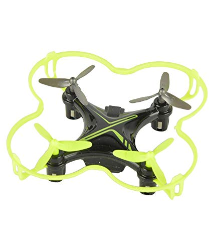 Baybee Lightning RC Quadcopter Drone 360 Degree Roll Over | USB Cable with Led Lights & Charger,Remote Control Drone (Yellow)