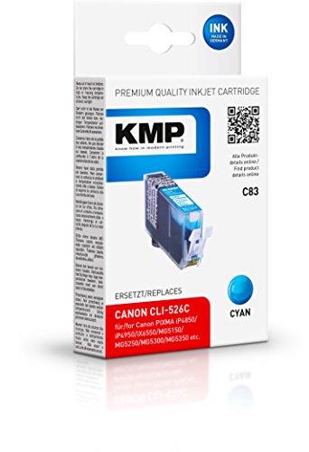 KMP Tintenkartusche für Canon PIXMA MG8150 , C83, cyan